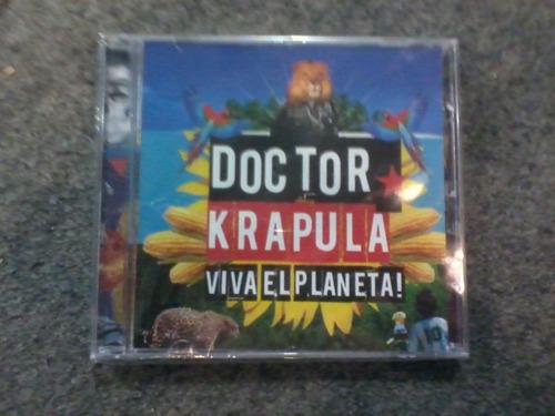 cd doctor krapula viva el planeta! año 2012 en la jugada
