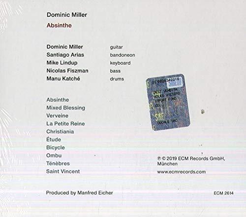 cd : dominic miller - absinthe (cd)
