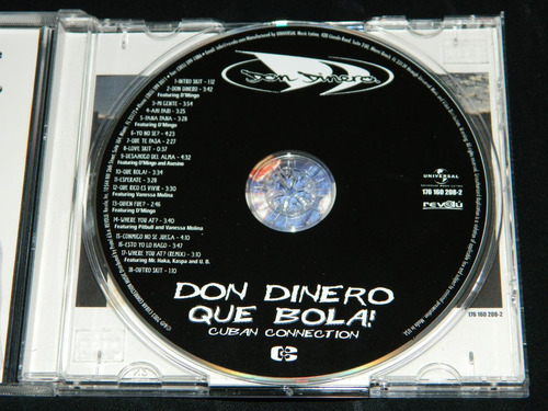 cd don dinero que bola cuban connection