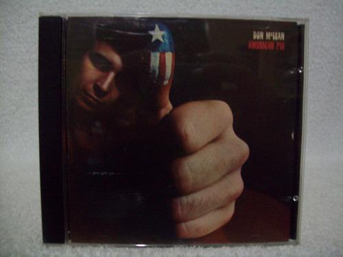 cd don mclean- american pie