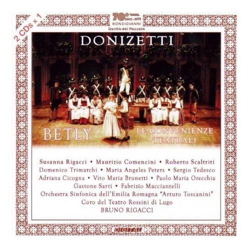 cd : donizetti / rigacci / comencini - betly