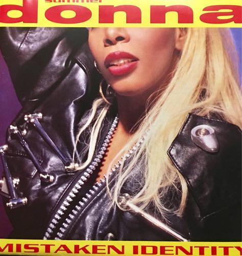 cd donna summer mistaken identity importado de alemania