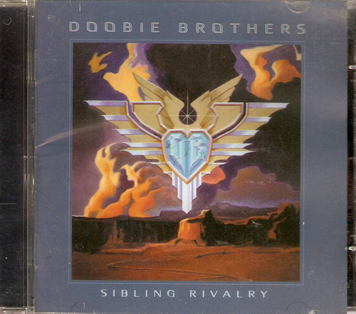 cd doobie brothers - sibling rivalry - novo lacrado***