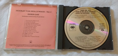 cd doris day - hooray for hollywood