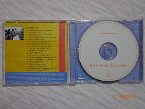 cd - dorival caymmi - cantando caymmi - usado