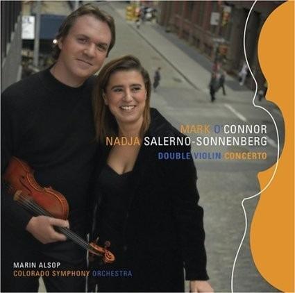 cd double violin concerto mark o'connor nadja salerno