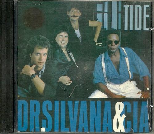 cd dr. silvana e cia. - tide - 1987 - raridade rock nacional