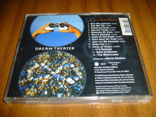 cd dream theater / falling into infinity (1997 alemania)