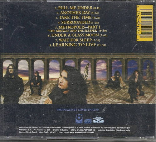cd dream theater - images and words
