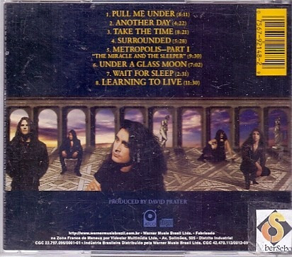 cd dream -theater - images and words