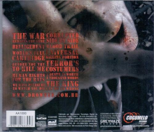cd drowned - belligerent part two - novo***