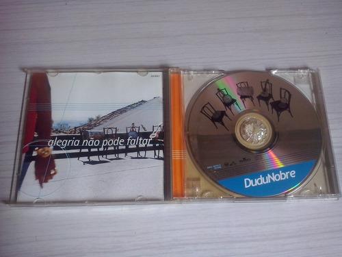 cd dudo nobre-1999  ótimo estado !