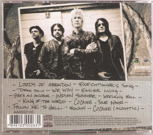 cd duff mckagan´s - the taking ( st2 ) 2011