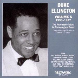cd duke ellington the alternative takes, vol. 5: 1936-1937