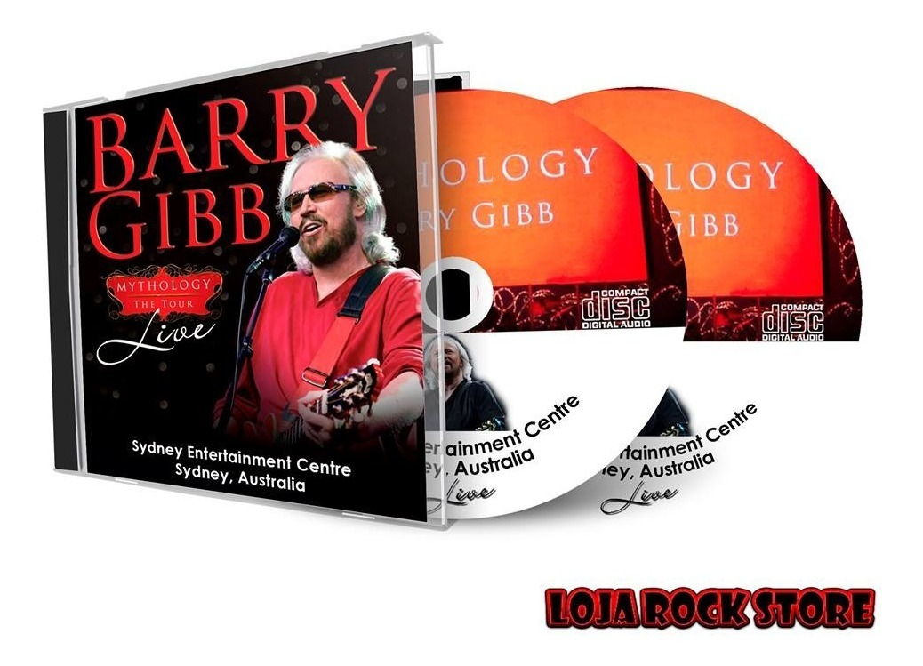 Cd Duplo - Barry Gibb Sydney Entertainment Centre