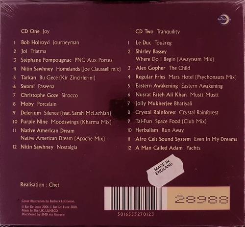 cd duplo budha beats - box set importado england lacrado
