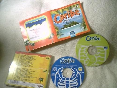 cd duplo  (caribe 2001 - el verano ya llego  )   impecável