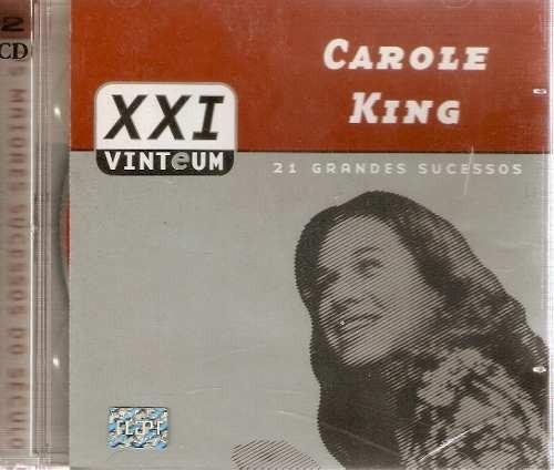 cd duplo carole king - 21 grandes sucessos -(lacrado)