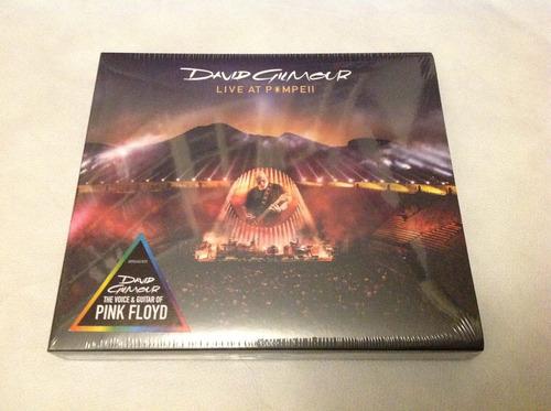 cd duplo david gilmour - live at pompeii - pink floyd