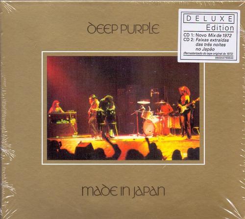 cd duplo deep purple - made in japan - novo***