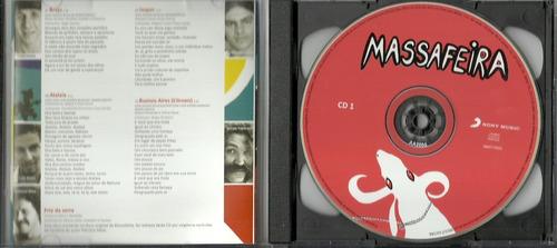 cd duplo ednardo - massafeira - 1979 - fagner belchior téti