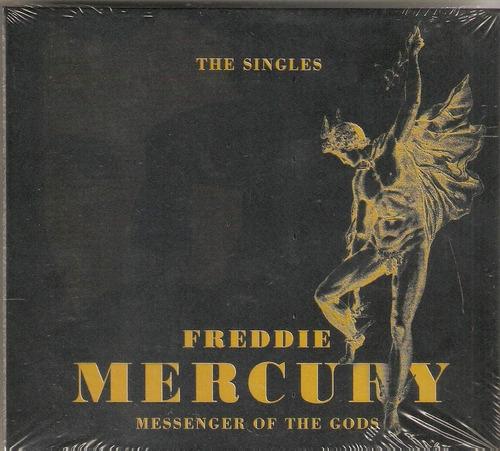 cd duplo freddie mercury - messenger of the gods/the singles