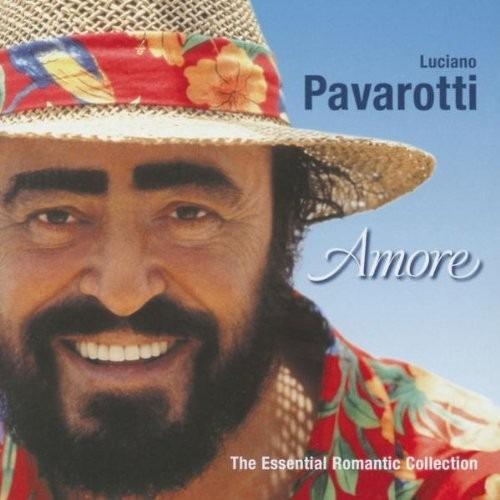 cd duplo importado luciano pavarotti amore (2001) * lacrado