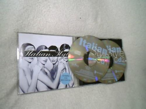 cd duplo ( italian style - bmg music ) 1996  ( raridade )