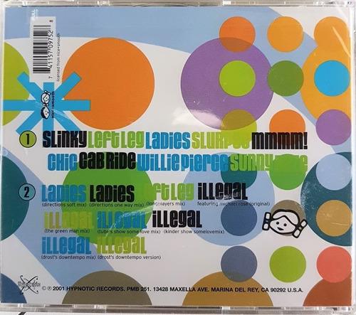 cd duplo kinder atom - mmm! - importado lacrado com bar code