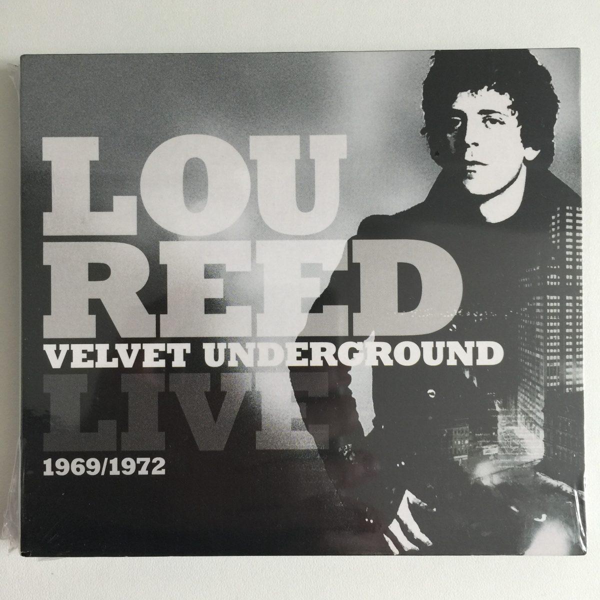 Cd Duplo - Lou Reed Velvet Underground Live 1969/1972 - Novo