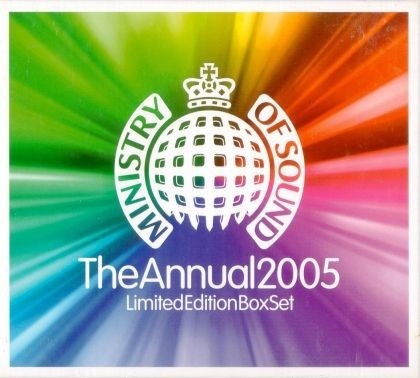 cd-duplo-ministry of sound-the annual 2005-lacrado de fabric