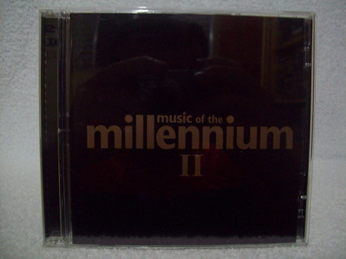 cd duplo music of the millennium 2- queen, blur, wings, u2