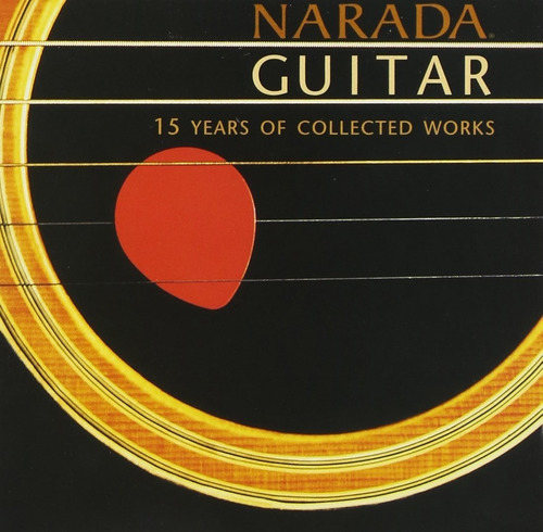 cd duplo narada guitar 15 years of collection works (imp)