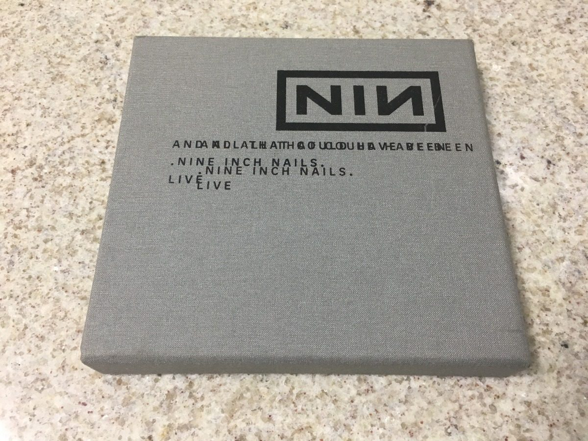 Cd Duplo Nine Inch Nails - And All That Could Have Been Live - R ...