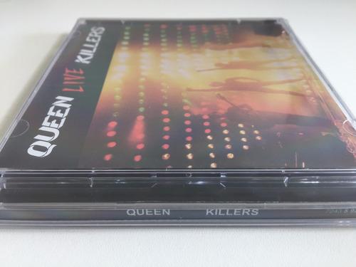 cd duplo - queen live killers (1979) - freddie mercury