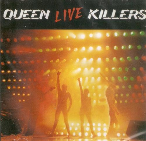 cd duplo queen - live killers - novo lacrado***