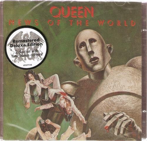 cd duplo queen - news of the world - novo lacrado***