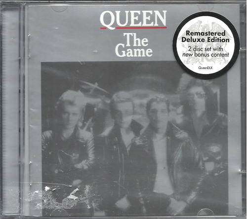 cd duplo queen the game (remaster deluxe edition)*lacrado