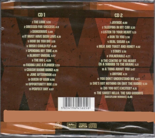 cd  duplo roxette - the 30 biggest hits xxx