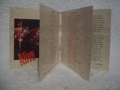 cd duplo sex pistols- alive- importado (inglaterra)
