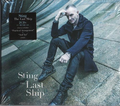 cd duplo sting the last ship feat brian johnson 2013 lacrado