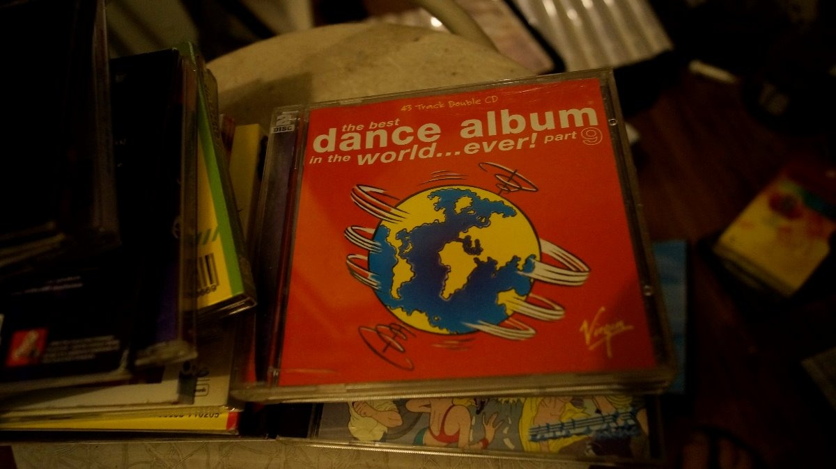 Cd Duplo The Best Dance Album In The World    Ever! Part 9