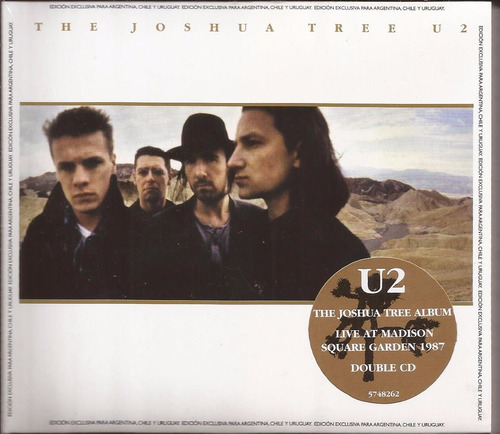 cd duplo u2 the joshua tree 30th anniversary novo lacrado
