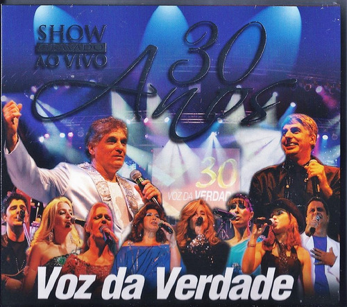 cd duplo voz da verdade 30 anos ao vivo a70