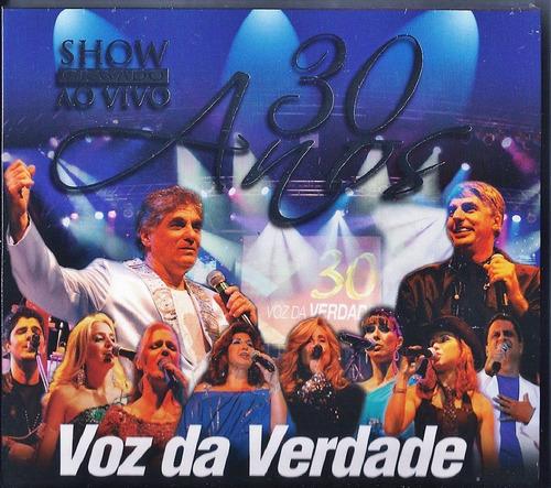 cd duplo voz da verdade 30 anos ao vivo lc70