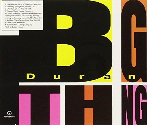 cd : duran duran - big thing (japan - import)