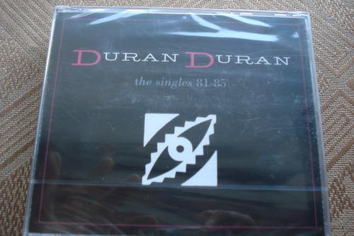 cd duran duran the singles 81-85 3 cds