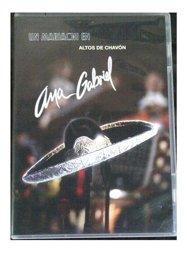 cd & dvd - ana gabriel -  altos de chavon - original