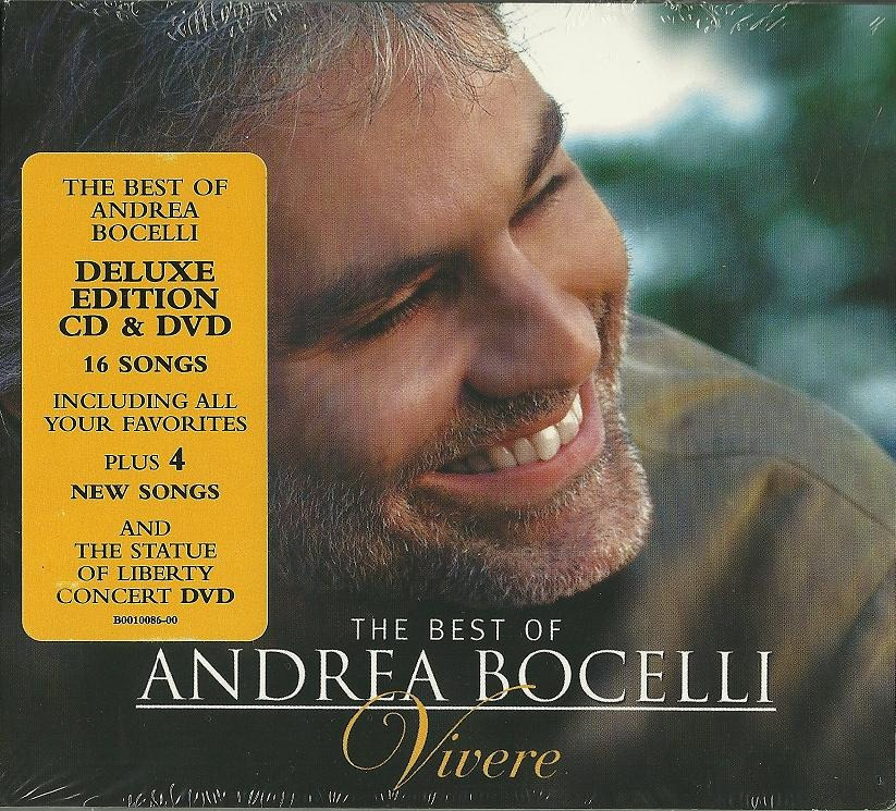 cd the best of andrea bocelli vivere