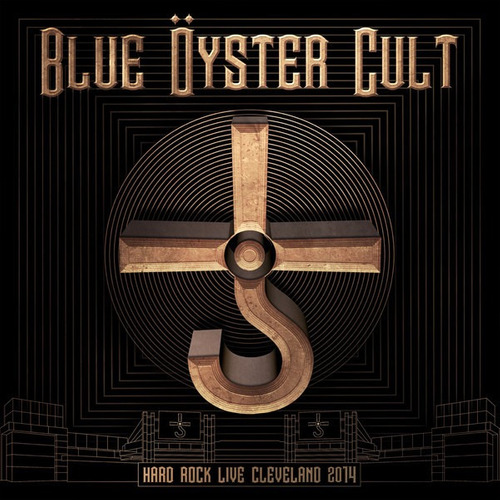cd + dvd blue oyster cult hard rock live cleveland